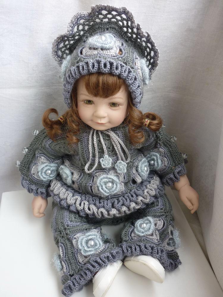 кукольный, с бусинами