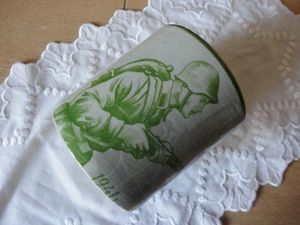 Находка с историей, или Не спешите выбрасывать старую посуду. Ярмарка Мастеров - ручная работа, handmade.