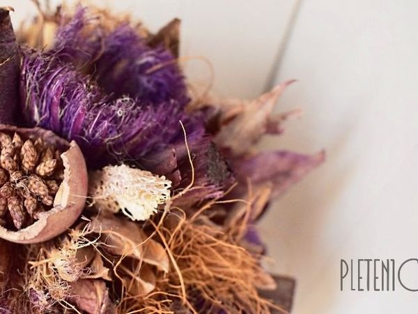 Моя флористика - Lavender Style.Pletenica.   Ярмарка Мастеров - ручная работа, handmade