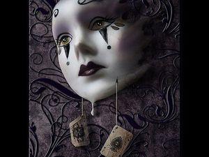 Gothic art doll, или Необычное среди нас | Ярмарка Мастеров - ручная работа, handmade