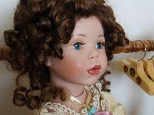 Цветочная девочка на примерке. | Ярмарка Мастеров - ручная работа, handmade