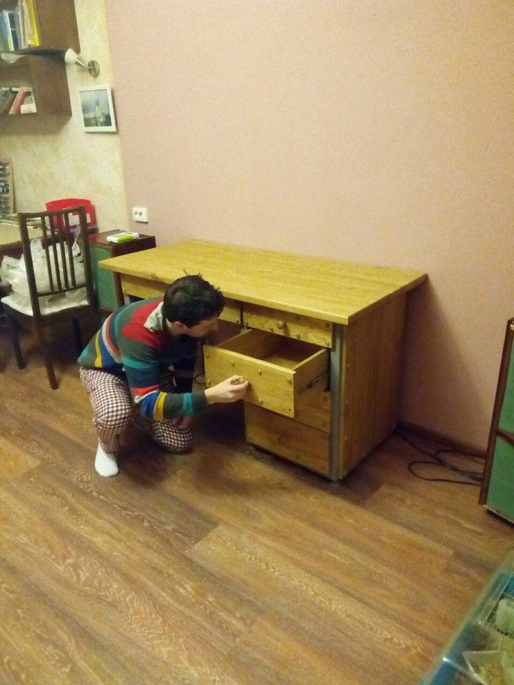 рабочий стол, мебель на заказ, производство мебели, долгопрудный