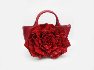 Обзор одной из моделей новых сумок-цветов. Ярмарка Мастеров - ручная работа, handmade.