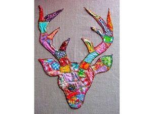 Интересный приём для пэчворка   Ярмарка Мастеров - ручная работа, handmade