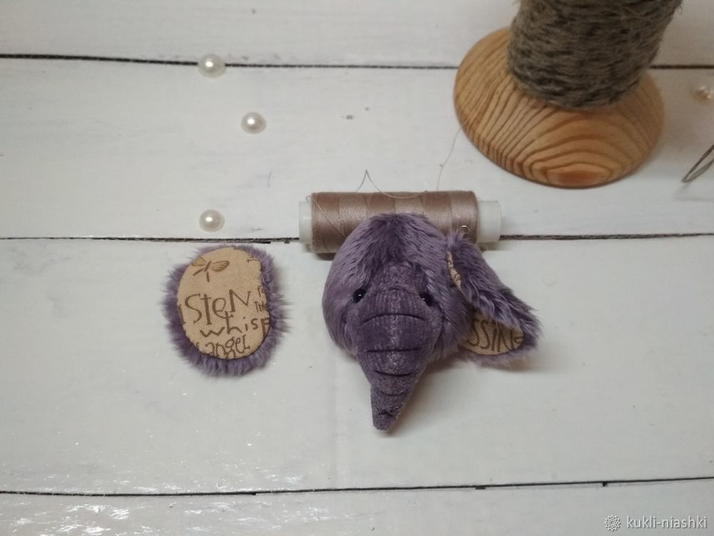 Cosemos un lindo elefante de peluche, foto No. 8