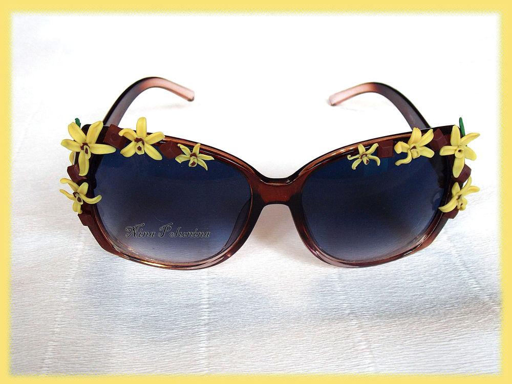 розыгрыш, цветочные очки