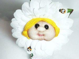 Создаем забавный цветочек из капрона. Часть 1. Ярмарка Мастеров - ручная работа, handmade.