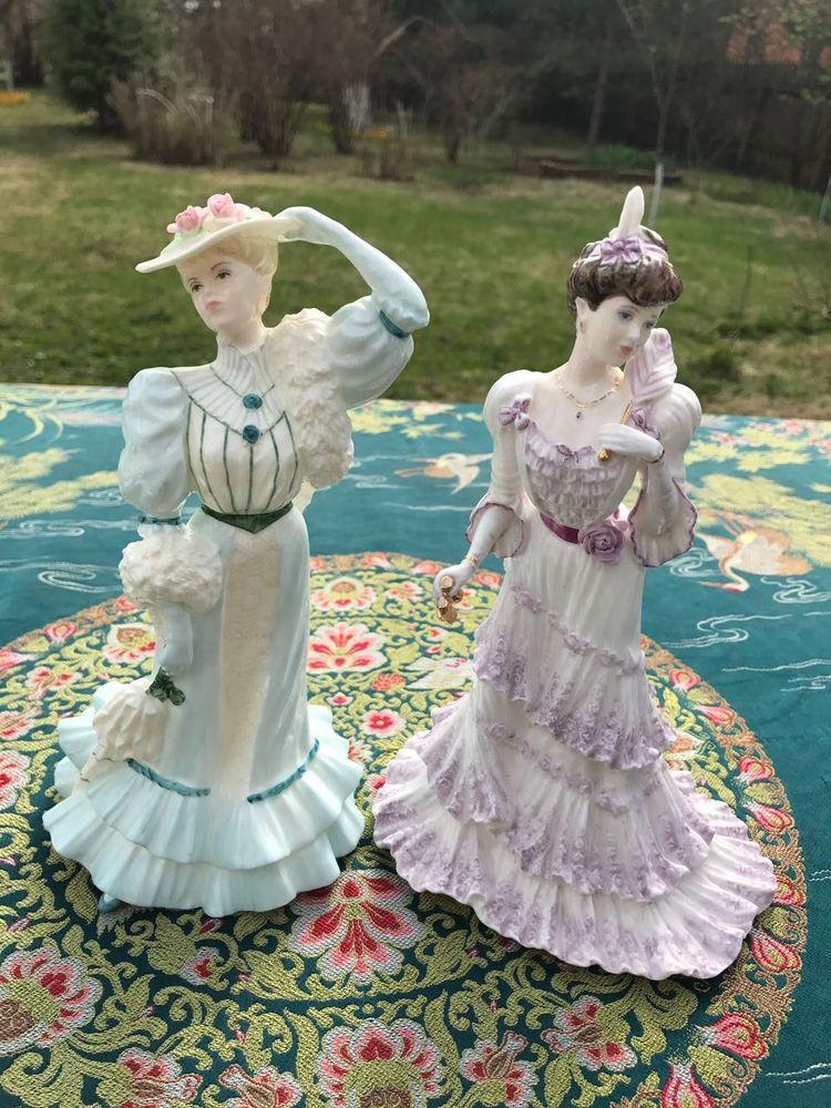 фарфоровые статуэтки, фарфоровая кукла, английский стиль