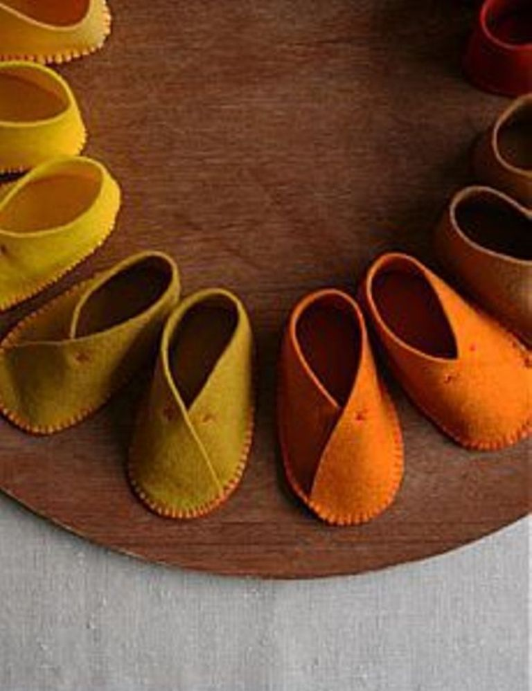 Обувь для кукол. Проще не бывает!!!, фото № 3