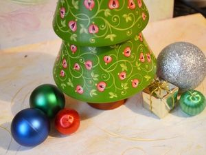 Новогодняя музыкальная елочка — подарок 2019!. Ярмарка Мастеров - ручная работа, handmade.