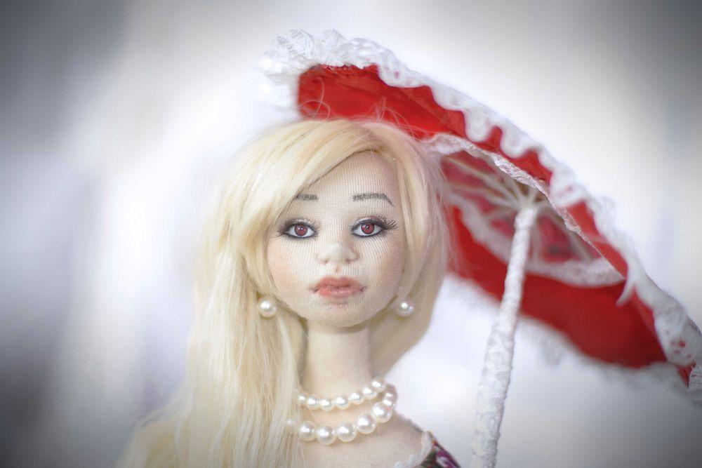 текстильная кукла, кукла на заказ