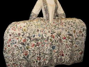 Силуэты из прошлого. Платья фасона Мантуя (court mantua). Ярмарка Мастеров - ручная работа, handmade.