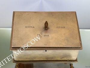РАРИТЕТИЩЕ Шкатулка антикварная бронза 19 век 20 | Ярмарка Мастеров - ручная работа, handmade