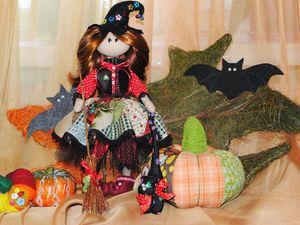 Шьем куклу «Ведьмочка Малфрида». Ярмарка Мастеров - ручная работа, handmade.