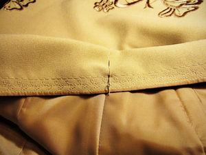 Декоративная отстрочка пояса юбки   Ярмарка Мастеров - ручная работа, handmade