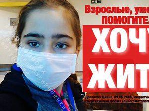 Спасем все вместе жизнь Дианочки Долгаевой!!! | Ярмарка Мастеров - ручная работа, handmade