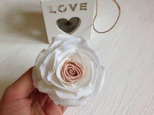 Делаем нежную розу из фоамирана. Ярмарка Мастеров - ручная работа, handmade.