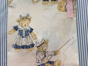 Распродажа Чесуча Мишки-морячки до 18.08.18. Ярмарка Мастеров - ручная работа, handmade.
