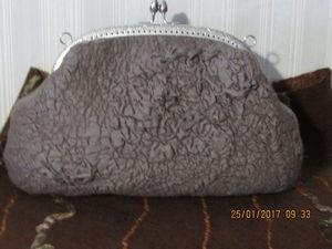 Валяная сумочка | Ярмарка Мастеров - ручная работа, handmade