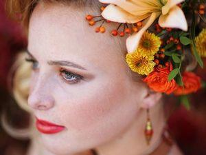 """Фотопроект """"Осенний beauty"""", сентябрь 2018. Образ второй. Ярмарка Мастеров - ручная работа, handmade."""