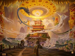 Процесс написания картины «Возникновение Вселенной». Ярмарка Мастеров - ручная работа, handmade.