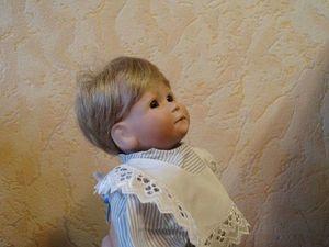 Коллекционный фарфоровый малыш Metzner (доп. фото). Ярмарка Мастеров - ручная работа, handmade.