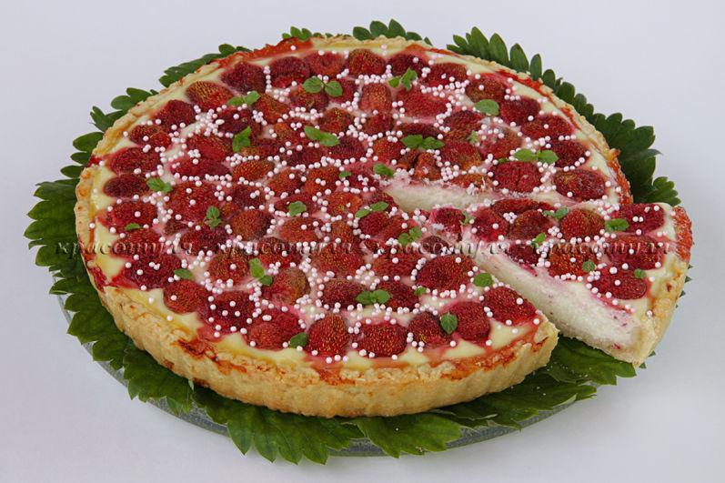 творожная выпечка, пирог с клубникой, клубника, ягодный пирог, рецепт пирога с клубникой, рецепт от красотули, творожная начинка
