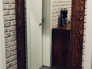 Большое зеркало в раме из сосны. Ярмарка Мастеров - ручная работа, handmade.