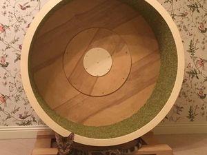 Беговое колесо тренажер для кошек. Ярмарка Мастеров - ручная работа, handmade.