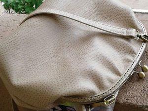 Новая сумка- есть ли перспективы у искусственной кожи.... Ярмарка Мастеров - ручная работа, handmade.