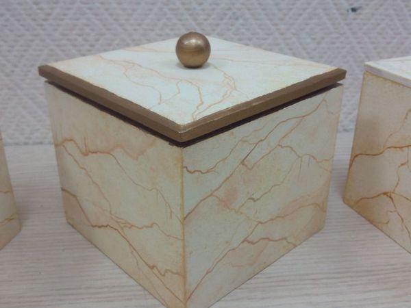 Рисуем мрамор! Коробочка для хранения из мрамора. | Ярмарка Мастеров - ручная работа, handmade