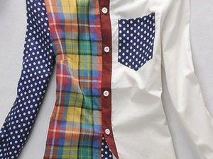 Интересная Рубашка!. Ярмарка Мастеров - ручная работа, handmade.