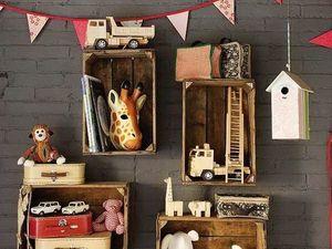 Детская комната — пространство маленького эстета. Ярмарка Мастеров - ручная работа, handmade.