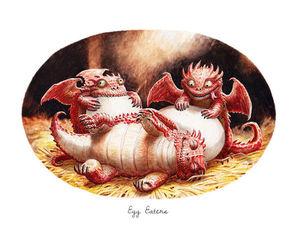 Драконы-милахи от Lynton Levengood: 20 веселых иллюстраций. Ярмарка Мастеров - ручная работа, handmade.