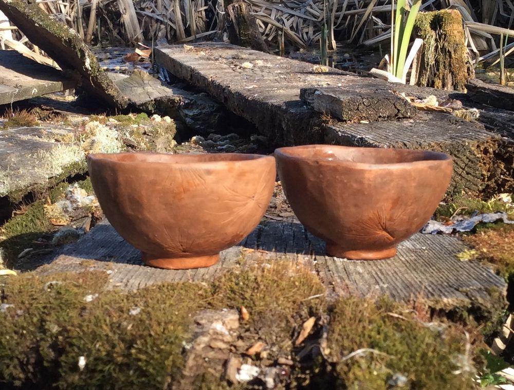 Две скорлупки времени.. Две чайные пиалы, фото № 7