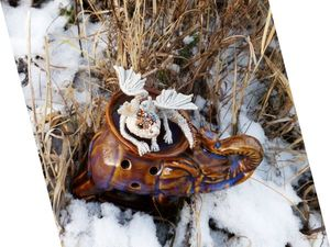 Зима в Парке Юрского периода . Новый пришелец уже в магазине. Ярмарка Мастеров - ручная работа, handmade.