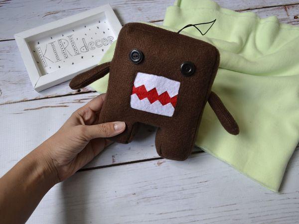 Мастер-класс по пошиву игрушки  Домокун | Ярмарка Мастеров - ручная работа, handmade