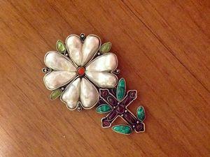 Комментарий к броши «Роза и Крест».. Ярмарка Мастеров - ручная работа, handmade.