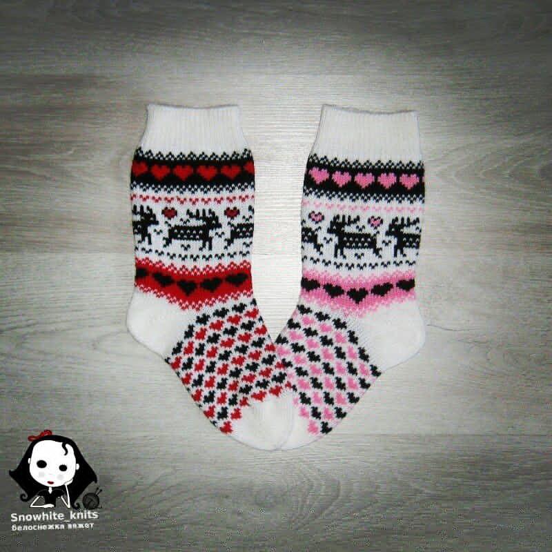 купить носки, олени