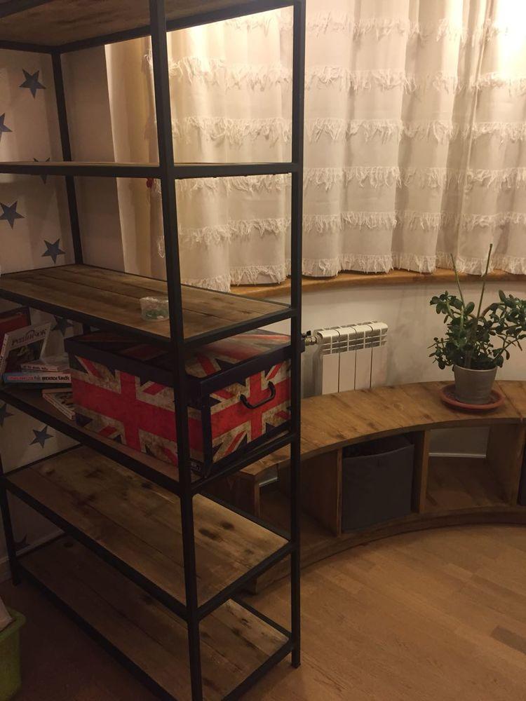 мебель из массива, комод в стиле лофт, оригинальная мебель лофт, мебель из дерева, loft furniture