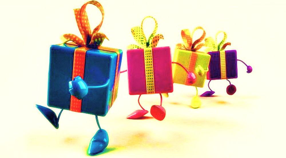 подарки, новый год, сюрприз, презент, декабрь