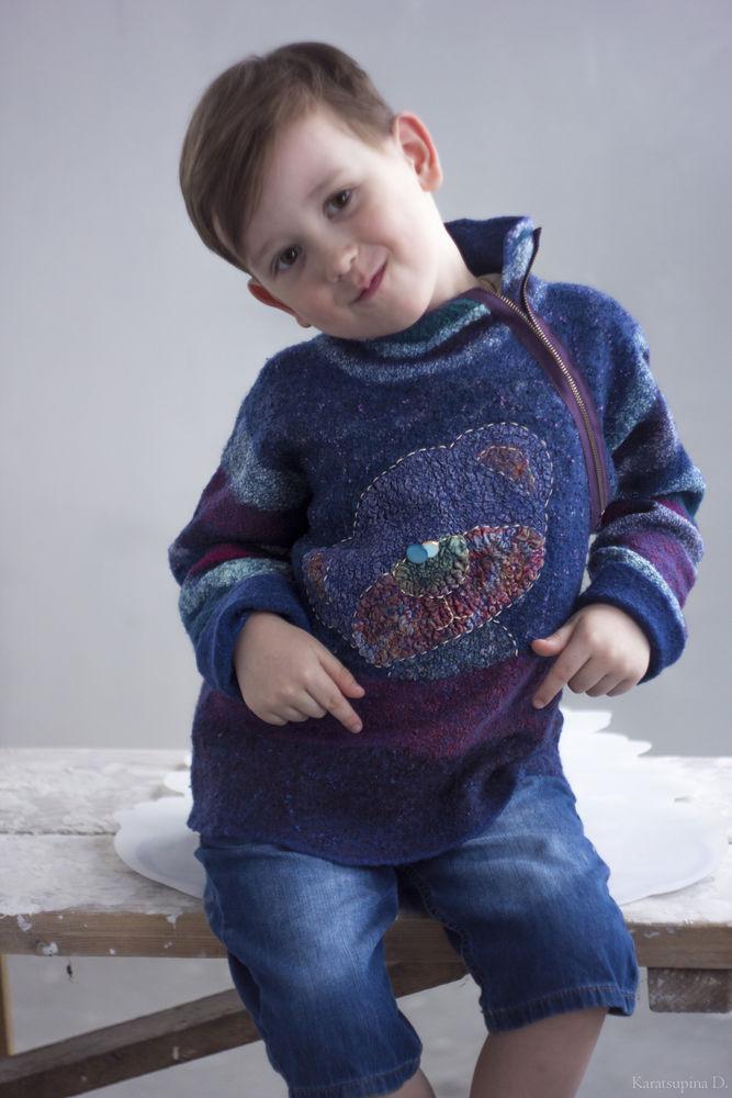свитер, для мальчиков