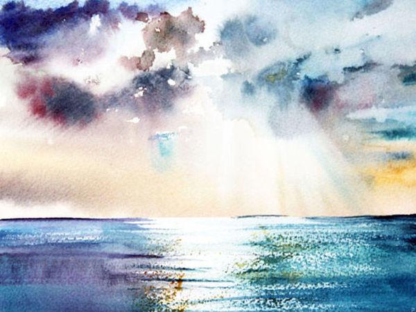 Небо и море на Главной! | Ярмарка Мастеров - ручная работа, handmade