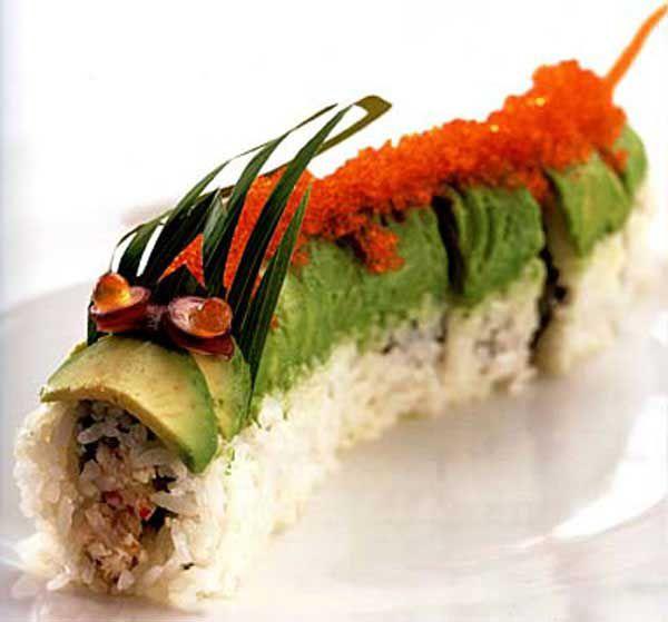 японская кухня, картины из риса