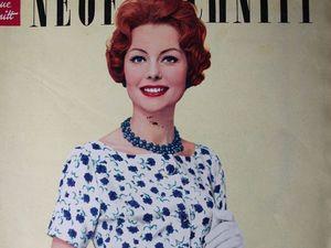 Neuer Schnitt — старый немецкий журнал мод 7/1959. Ярмарка Мастеров - ручная работа, handmade.
