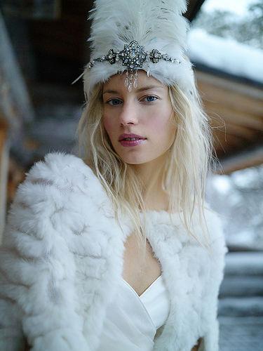 Свадьбы в русском народном стиле зимой 84
