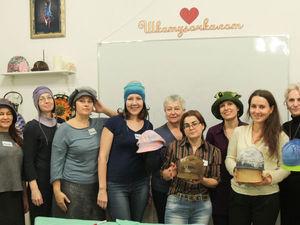 Головные уборы из войлока: шапочки, шляпки, кепки, ушанки, береты   Ярмарка Мастеров - ручная работа, handmade