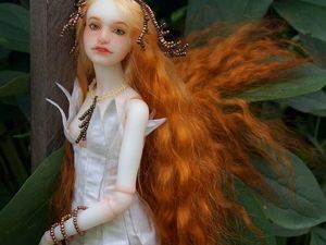 Элиола - лесная дева. Авторская шарнирная кукла бжд. Ярмарка Мастеров - ручная работа, handmade.