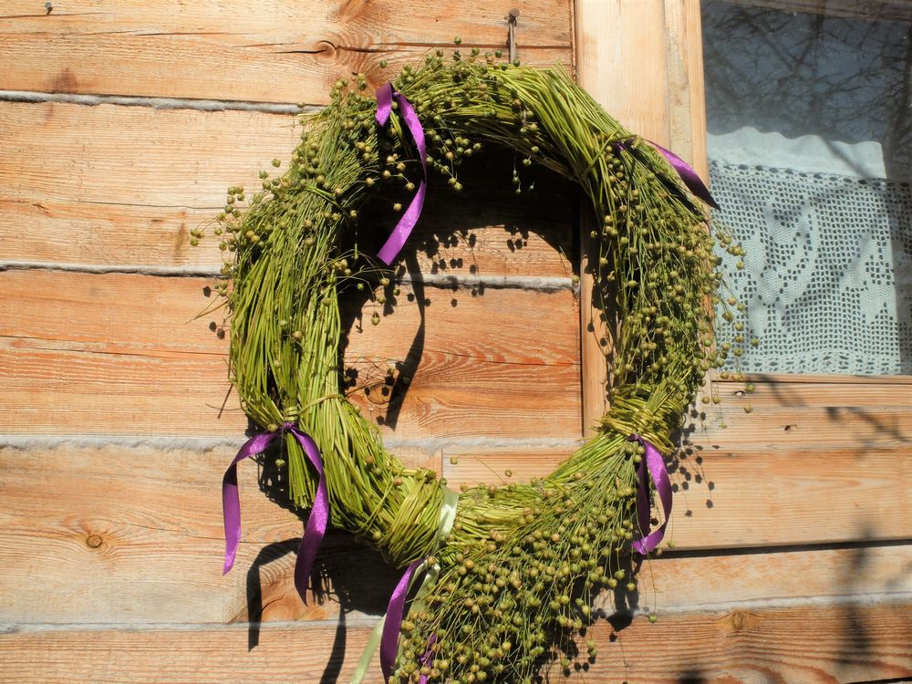 венки из трав