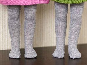 Как сшить колготки для куколки | Ярмарка Мастеров - ручная работа, handmade
